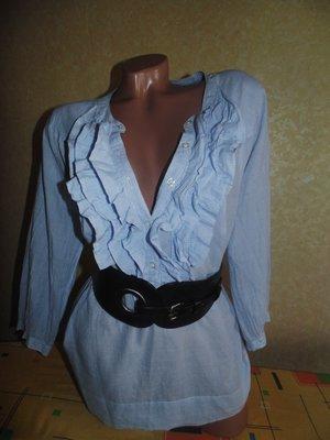 Блуза Н&м Оригинал 100%хлопок,можно беременным