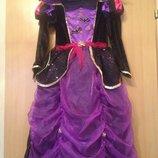 Карнавальное платье ведьмочки на хэллоуин