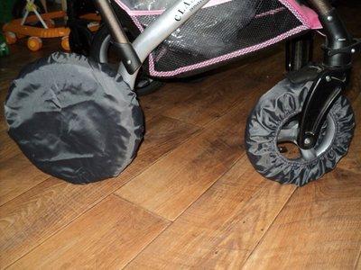 Продано: Чехлы на колеса коляски Польша