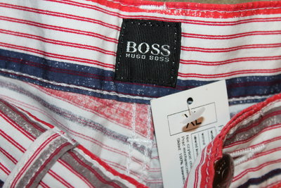 Котонові штани Hugo Boss