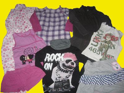 Пакет вещей для девочки 9-10 лет,рост 134-140 см,Zara