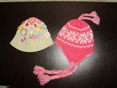 Шапки шапочки для девочек на разный возраст