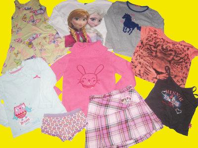 Пакет вещей на девочку 5-6 лет,рост 110-116 см,Disney