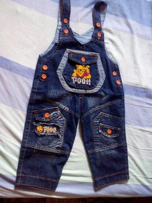 Продам новый комбинезон джинсовый 1,5-3 года