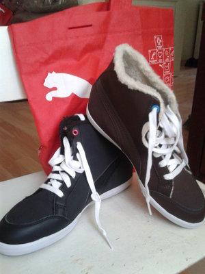 Ботинки Puma демисезонные женские р.37,5-41