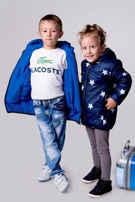 Двухсторонние куртки 98-146 р-р
