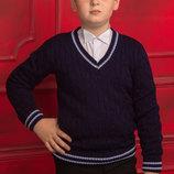 Новинка, джемпер школьный для мальчика, 128-158 см в наличии
