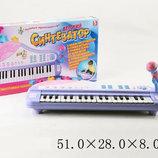 Синтезатор детский, 8 видов инструм., 22 песни, акомпонимент, караоке, запись, арт.JXT88016