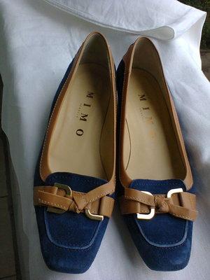 Итальянские замшевые туфли.