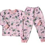 Пижама с начесом для девочки Bunny, Мерри Би