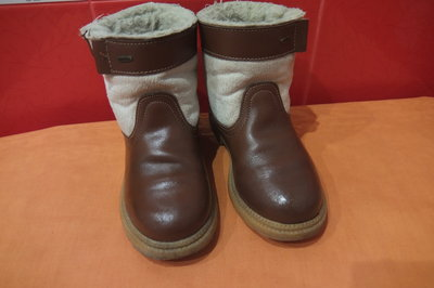 Ботинки деми р.30 Arek, утеплены искусственным мехом по стельке-19 см,