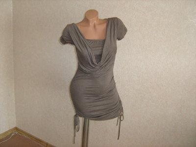 Туника-Платье с красивой спинкой, размер 44-46, Италия