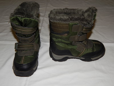 Зимние ботинки защитной расцветки. Унисекс. Размер 10 28 .