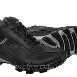Мужские зимние ботинки кожаные модель К-9