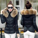 куртка женская Зима зимняя теплая пуховик женский пальто