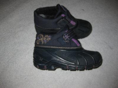 канадские зимние ботинки, 21 см стелька