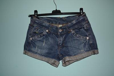Шорты Denim Co - плотный джинс 100% коттон . Размер 36 англ.8 .