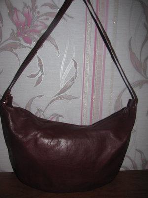 Натуральная кожаная сумка Pappagallo