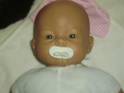 озвученный кукла-пупс новорожденный младенец Antonio Juan Испания оригинал клеймо 42 см