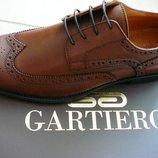 Gartiero Мужские классические кожаные туфли оксфорд 41,42,43,44,45,46 Киев