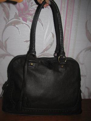 Коричневая сумка Тсm