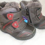 Зимние ботинки, сапоги на мальчика размер 22 13см ,24 14,5см