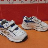 Кроссовки с мигалками д/мал. Clarks р.23 6 G , Вьетнам, натур.кожа