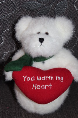 Коллекционный мишка-снеговик BOYDS BEARS PLUSH ISSA MELTIN CHRISTMAS 17-18 см