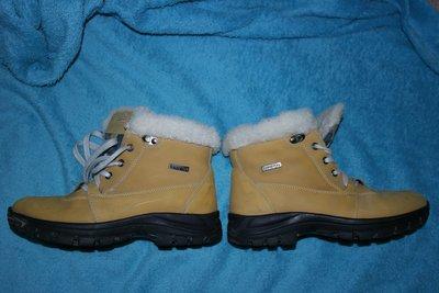 Ботинки зимние кожаные мех натуральный