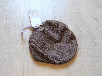 Новая стильная трендовая кепка для маленького модника. F&F. Размер 0-3 месяца, можно до года