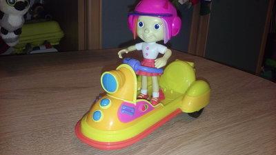 Кукла с мотоциклом