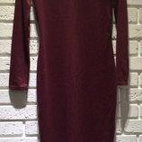 Платье длинное Ткань - фр. трикотаж