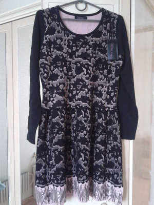 Платье трикотажное нарядное Cristina Paris Франция