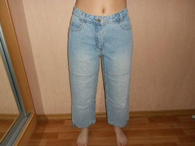 Летние свободные джинсы, наш 46,48 размер, Пот 50 см, бренд Bona Parte, новые, сток
