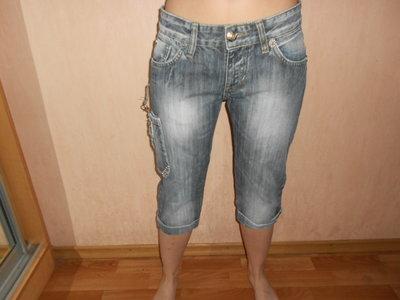 джинсы короткие, бриджи, под ботинки, сапоги,Denim legend , Euro 29, наш 46 размер, новые, сток