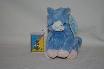 Очень редкий Котик котенок друг мишки тедди My blue nose friends Carte Blanche