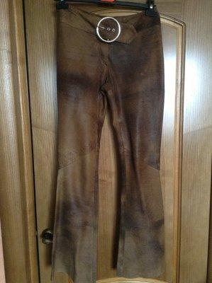 Кожаные штаны размер XS-S Турция
