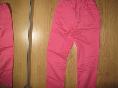 Яркие штаны, джинсы H&M 7-8 лет