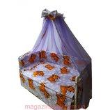 Акция Постельные наборы в кроватку от производителя. 8 элементов - 469 грн.