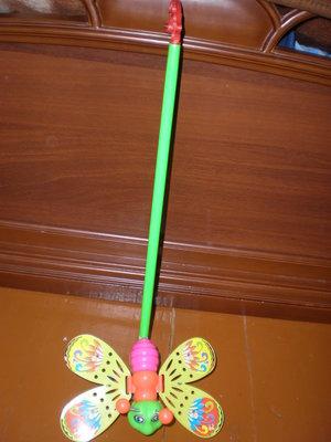 Метелик-Каталка на палочці Нова