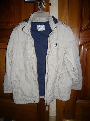 Куртка ветровка котон на подкладе Дебенхамс 8-9 лет