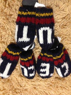 Тёплые рукавички для малышей.Англия.
