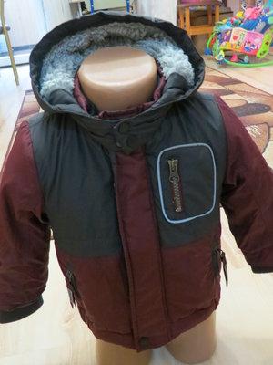 демисезонная куртка на мальчика Tu 9-12мес