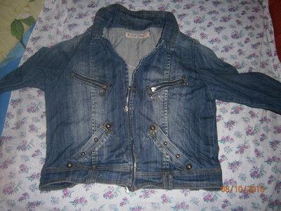 Продано: джинс куртка