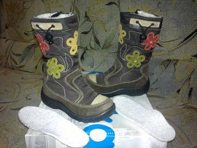 Продано: Ботинки,сапоги зимние Kapika Floare. Капика Флоаре 27 18 см
