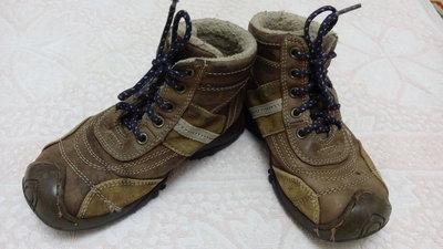 Кожаные демисезонные ботинки, стелька 18 см