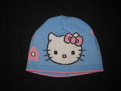 шапка с Китти на 6-8 лет, двойная