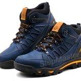 Ботинки кожаные зимние Columbia Blue
