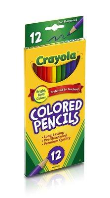Карандаши цветные Crayola