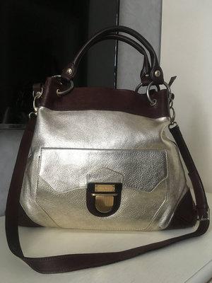 Итальянская кожаная сумка Anna Biogini.